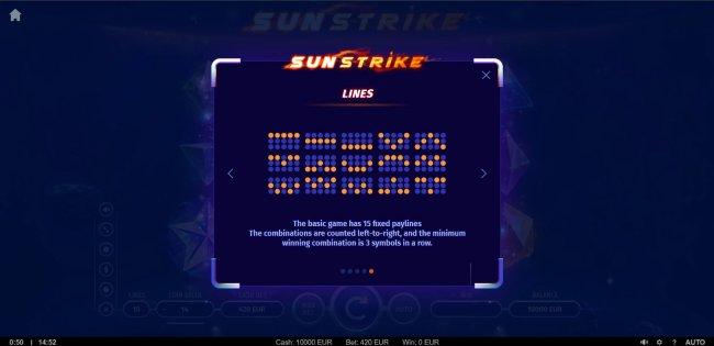 Free Slots 247 image of Sunstrike