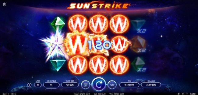 Sunstrike screenshot