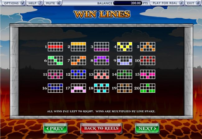 Free Slots 247 - 20 paylines