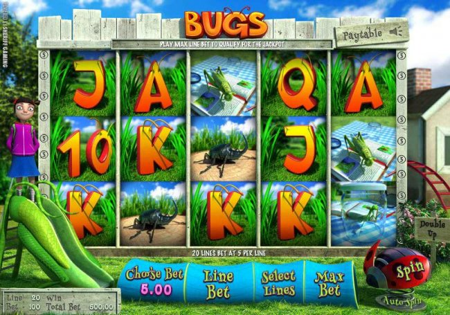 Bugs by Free Slots 247
