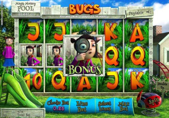 Free Slots 247 image of Bugs