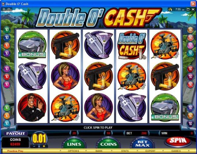 Double O' Cash screenshot