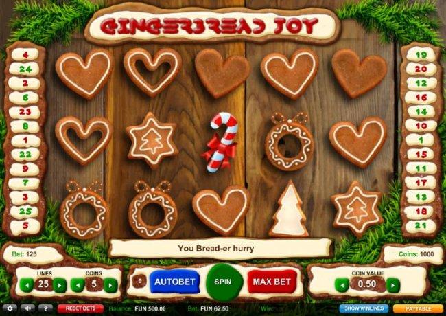 Free Slots 247 image of Gingerbread Joy