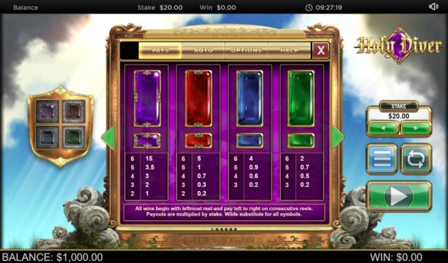 Holy Diver Reel Diver by Free Slots 247