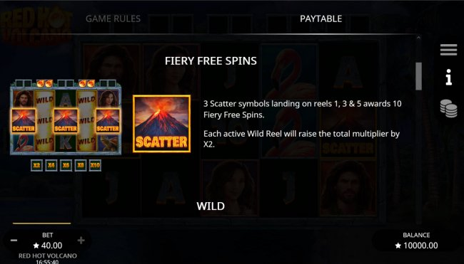 Free Slots 247 - Free Spin Feature Rules