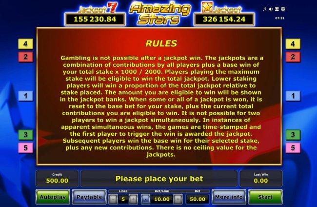 Free Slots 247 image of Amazing Stars