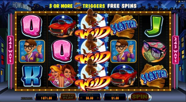 Free Slots 247 - After new symbols drop into place another win is triggered
