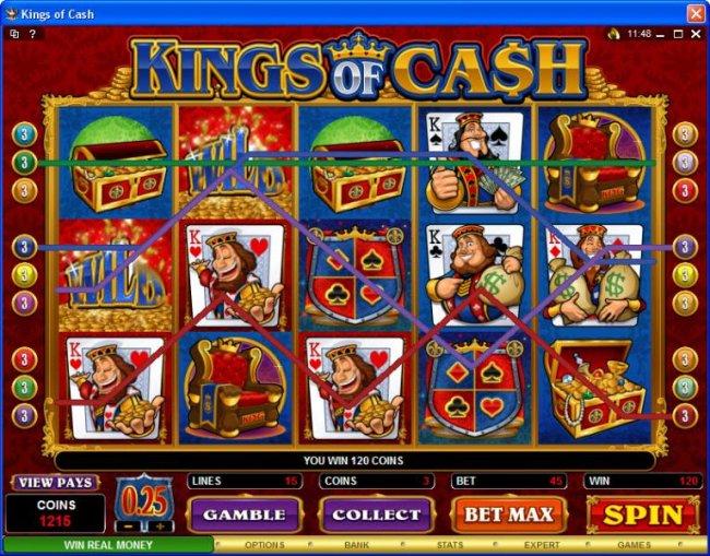 Free Slots 247 image of Kings of Cash