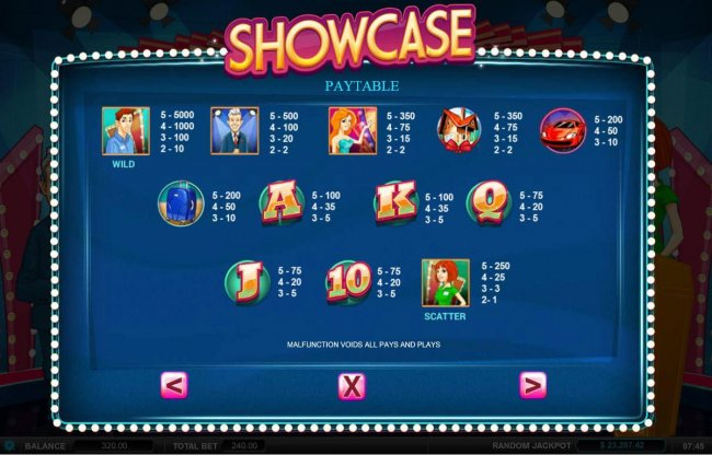 Free Slots 247 image of Showcase