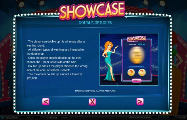 Showcase screenshot