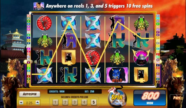 here is an example of a 1045 coin big win payout - Free Slots 247