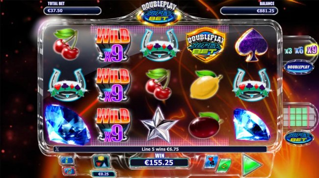 Free Slots 247 - Multiple winning paylines triggers a big win!