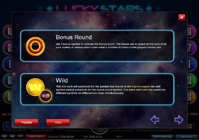 Casino Bonus Lister image of Lucky Stars
