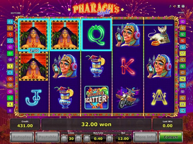 Free Slots 247 image of Pharaoh's Night