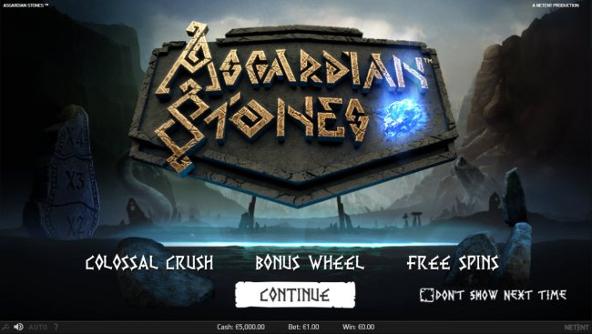 Asgardian Stones by Free Slots 247
