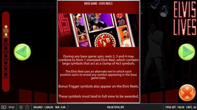 Free Slots 247 - Base Game - Elvis Reels
