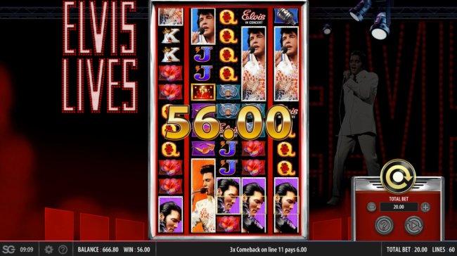 Free Slots 247 image of Elvis Lives