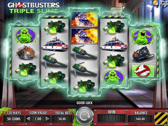 Ghostbusters Triple Slime by Free Slots 247