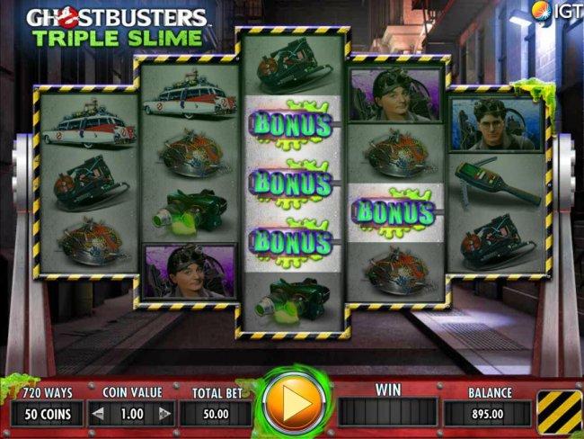 Free Slots 247 image of Ghostbusters Triple Slime