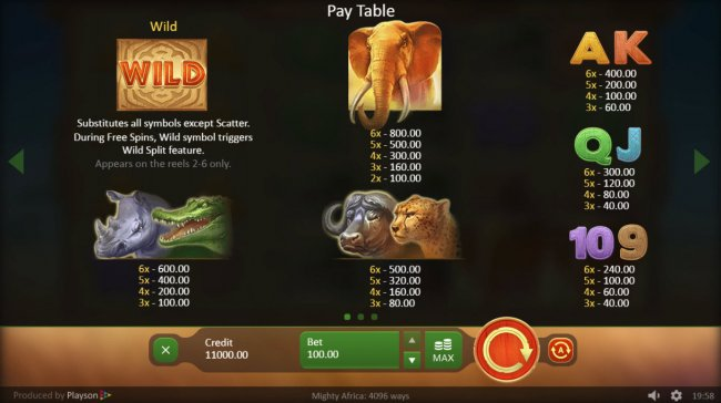 Mighty Africa by Free Slots 247