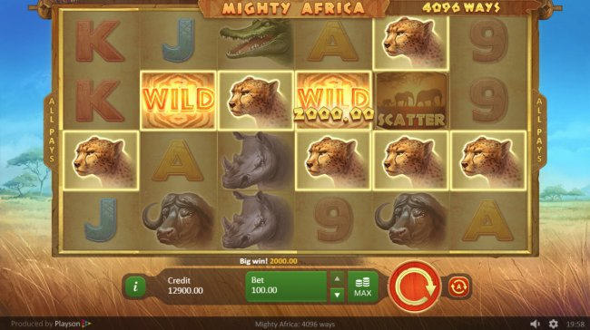 Free Slots 247 image of Mighty Africa