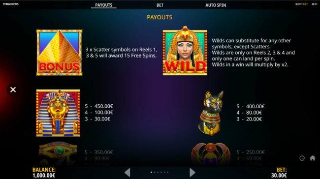 Free Slots 247 image of Pyramid Pays