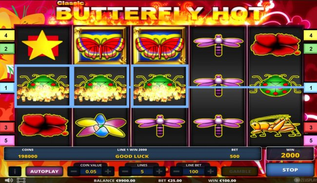 Free Slots 247 image of Classic Butterfly Hot