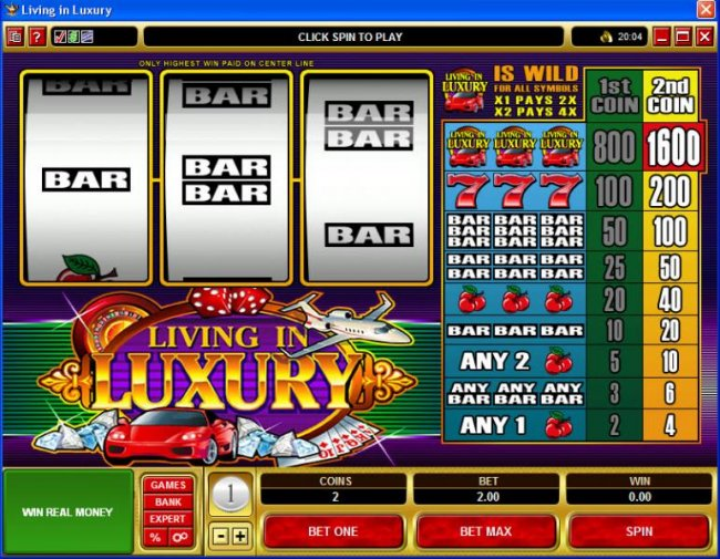 Free Slots 247 image of Living in Luxury