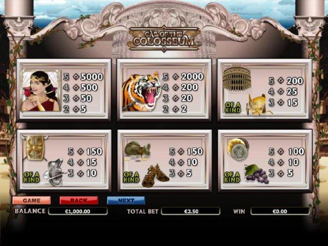 Call of the Colosseum screenshot