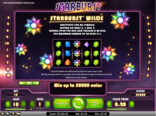 Starburst by Free Slots 247