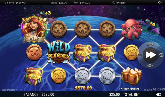 Wild Plunder by Free Slots 247