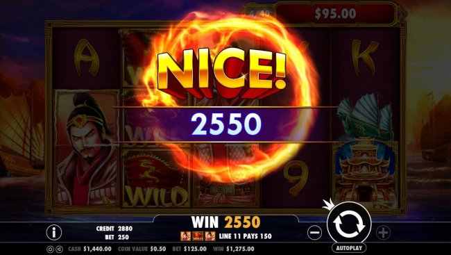 Free Slots 247 - A 2550 coin big win!
