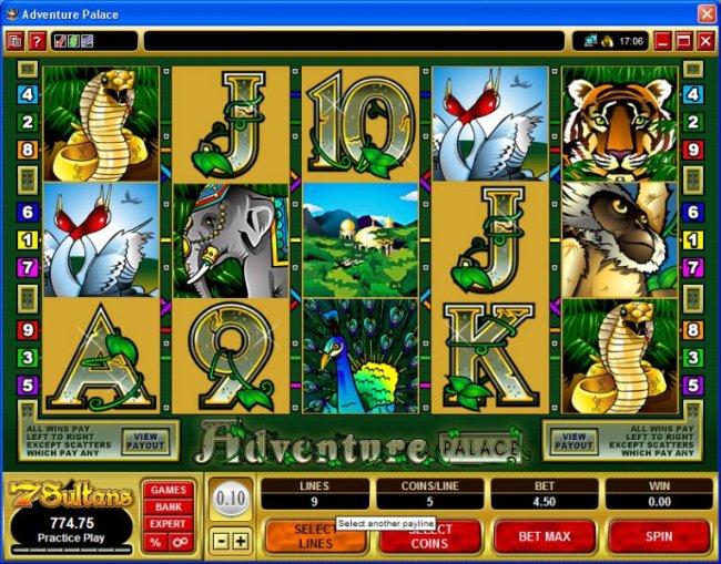 Adventure Palace screenshot