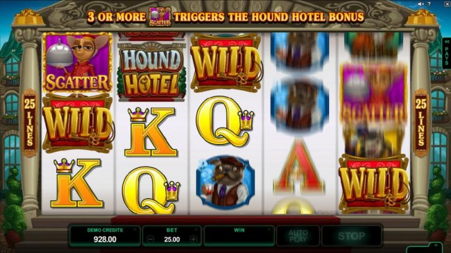 Free Slots 247 - Dashing Wild Feature in action.