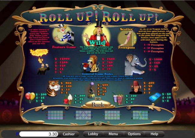 Roll Up! Roll Up! screenshot