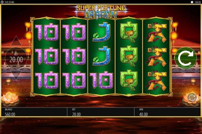 Super Fortune Dragon screenshot