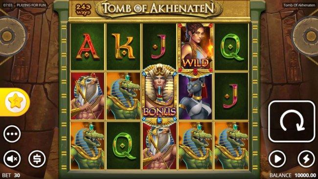 Images of Tomb of Akhenaten