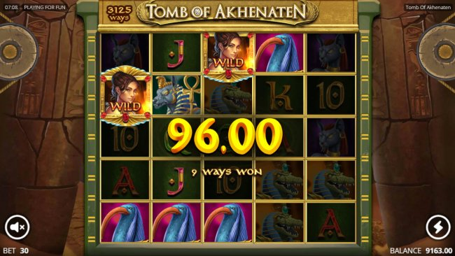 Free Slots 247 image of Tomb of Akhenaten