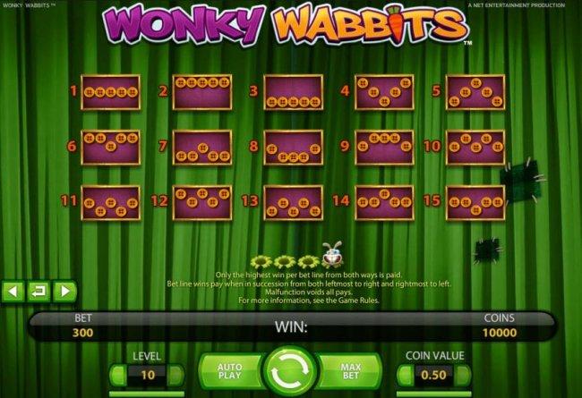 Free Slots 247 image of Wonky Wabbits