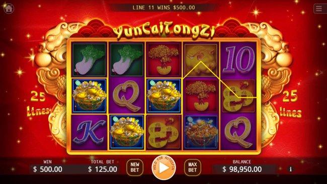 Yun Cai Tong Zi by Free Slots 247