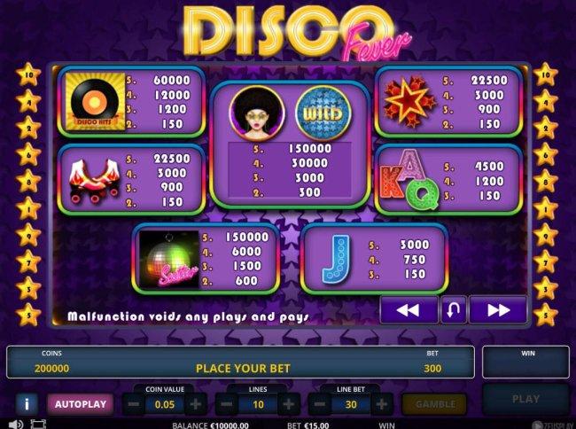 Disco fever screenshot