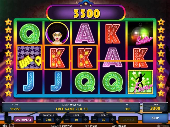 Free Slots 247 image of Disco fever