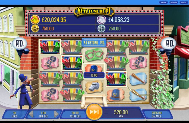 Keystone Kops Slot Machine