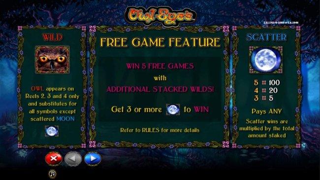 Free Slots 247 image of Owl Eyes