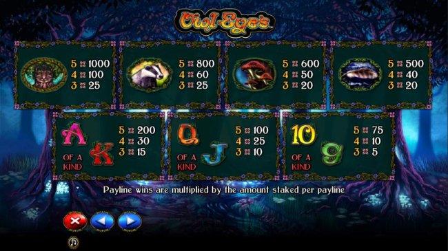 Owl Eyes by Free Slots 247