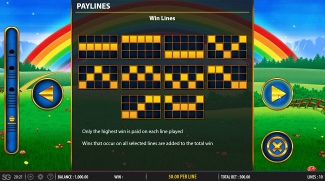 Free Slots 247 image of Rainbow Riches Fortune Favours