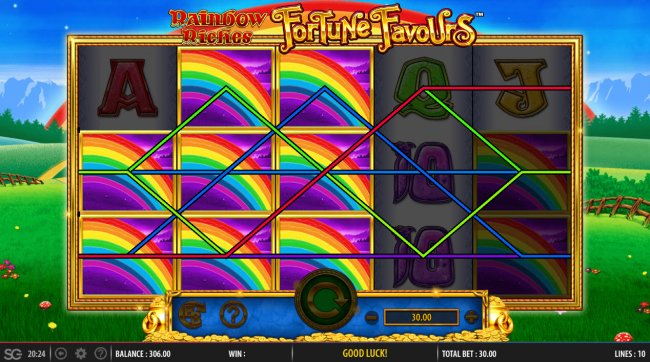 Images of Rainbow Riches Fortune Favours
