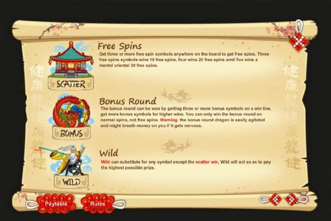 Free Spins, Bonus Round and Wild Symbol Rules by Free Slots 247