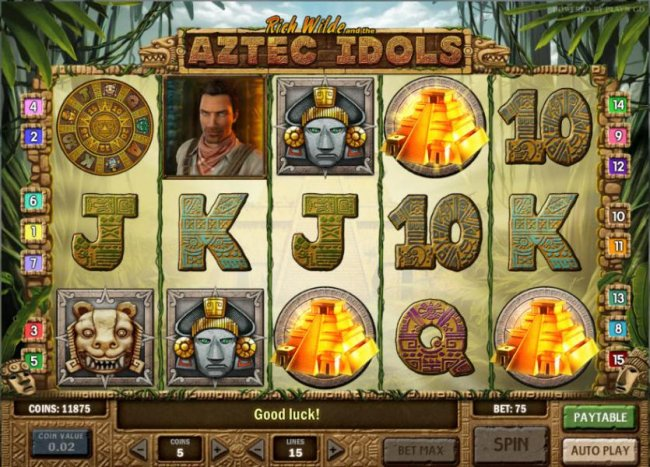 Rich Wilde and the Aztec Idols screenshot