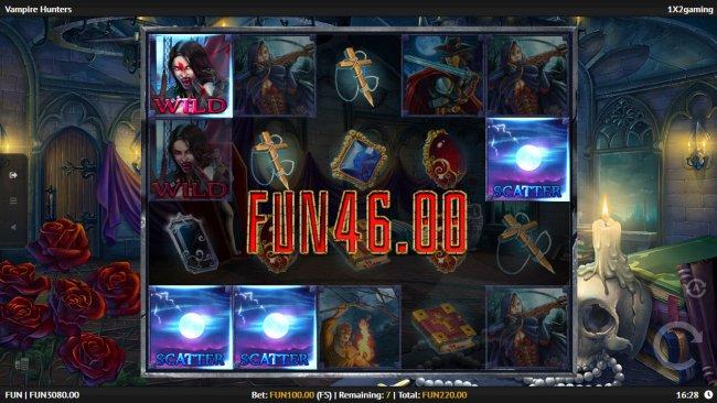 Free Slots 247 image of Vampire Hunters